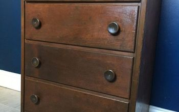 Apothecary Chest From Plain Dresser