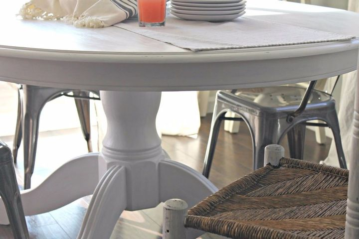 our dining table makeover