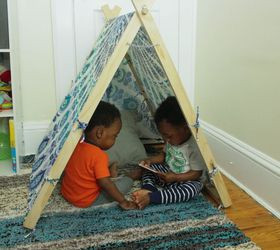 diy teepee tent for kids or pets Nickell Morgan : diy teepee tent - memphite.com