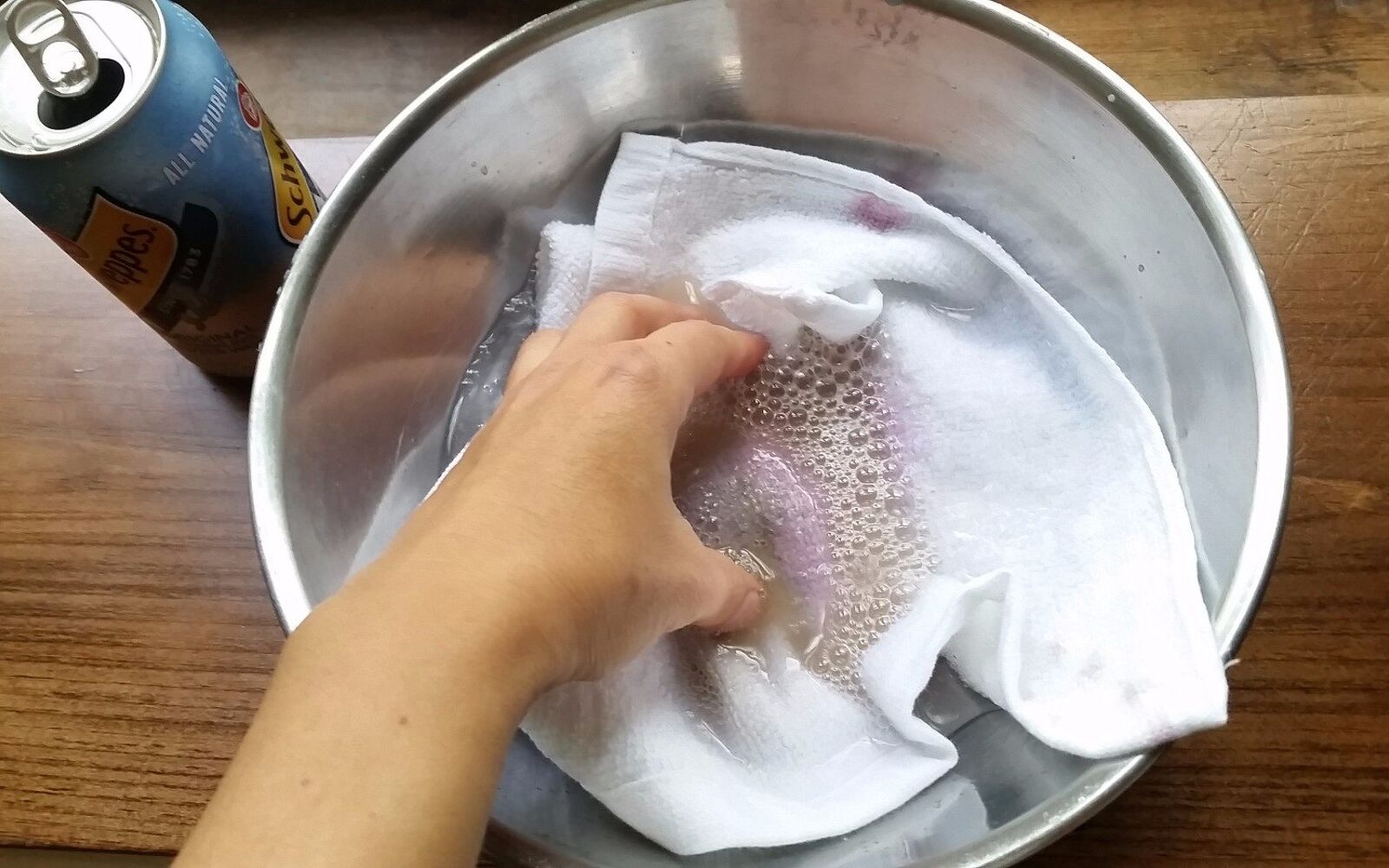 s 30 essential hacks for cleaning around your home, Remove Wine Stains With Borax