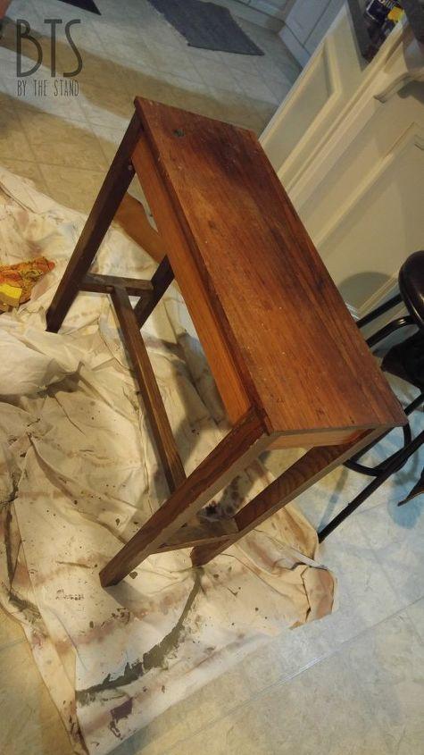 diy wood shim table