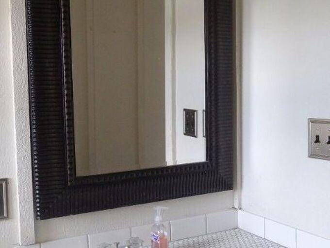 bathroom sink makeover