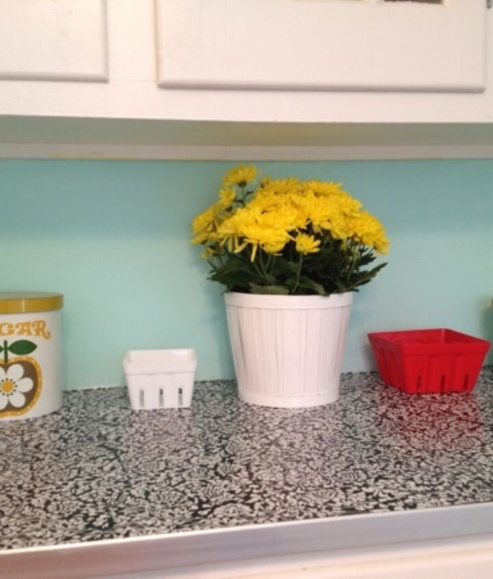 s 31 astounding things you didn t know you could do with contact paper, Redesign your countertops