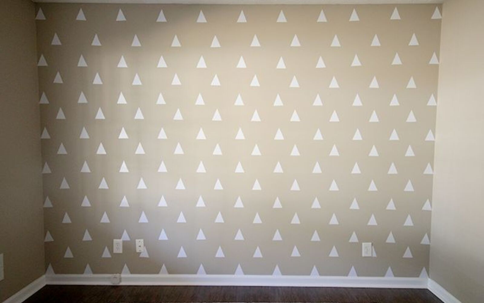 s 31 astounding things you didn t know you could do with contact paper, Create an adorable accent wall