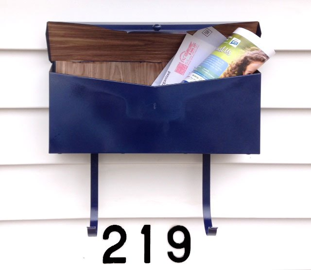 s 31 astounding things you didn t know you could do with contact paper, Decorate the inside of your mailbox