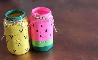 diy mason jar dollar store craft