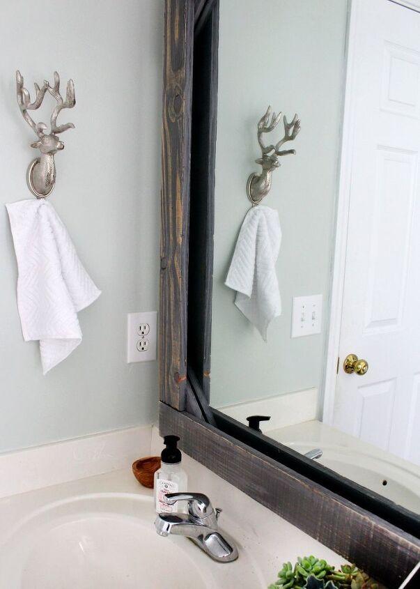 Diy Rustic Wood Mirror Frame
