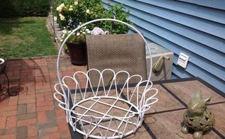 q i have a large heavy wire basket and would like ideas to use it