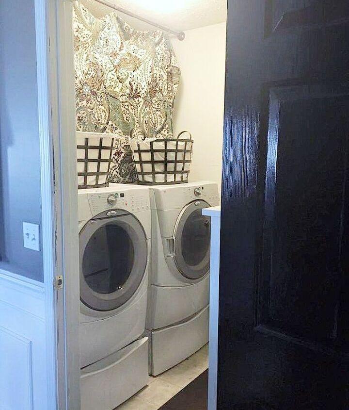 tiny laundry room remodel