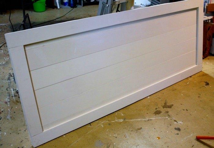 how to build your own interior barndoor