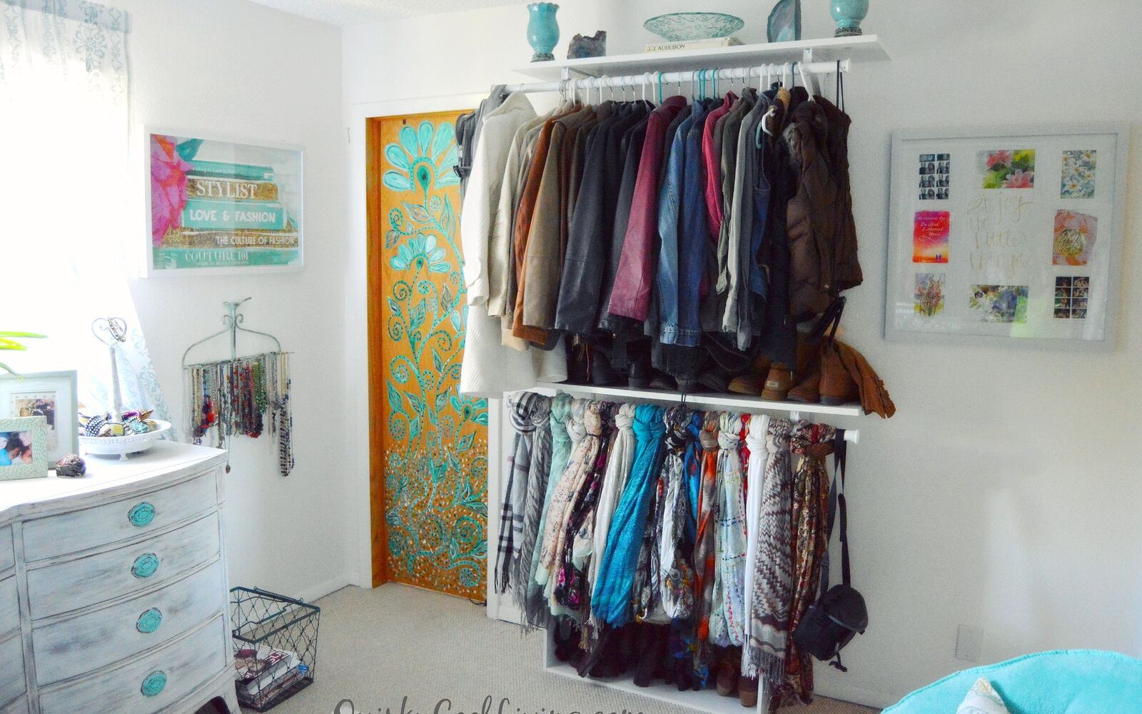 s 15 makeovers that will make you rethink your bedroom, Turn Your Bedroom Into A Lux Dressing Room