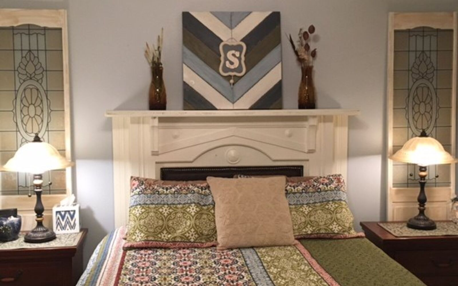 s 15 makeovers that will make you rethink your bedroom, Update Your Room By Updating Your Mantel
