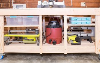 Miter Saw Stand With Storage