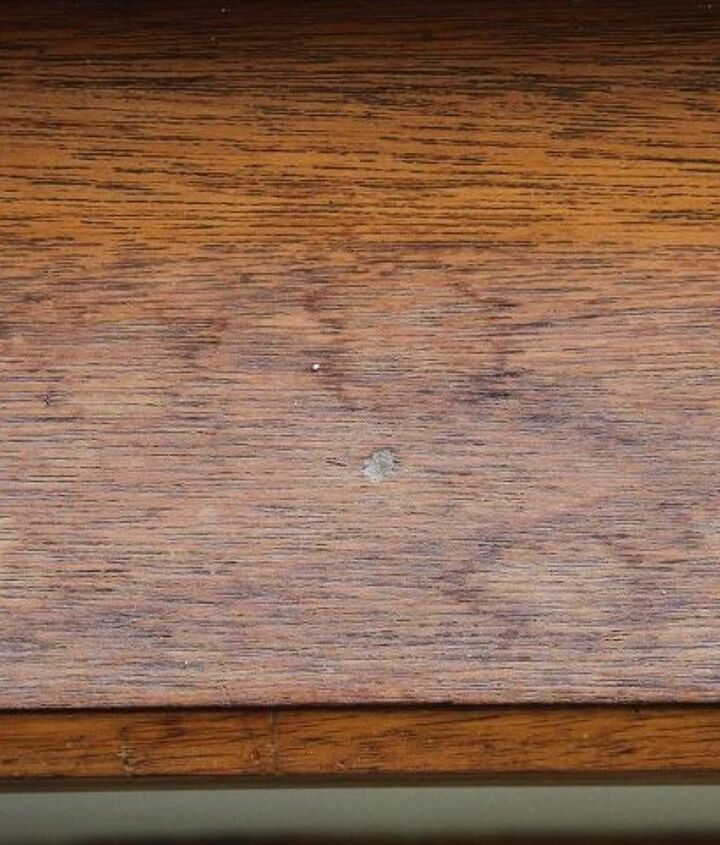 Weathered wooden window sill