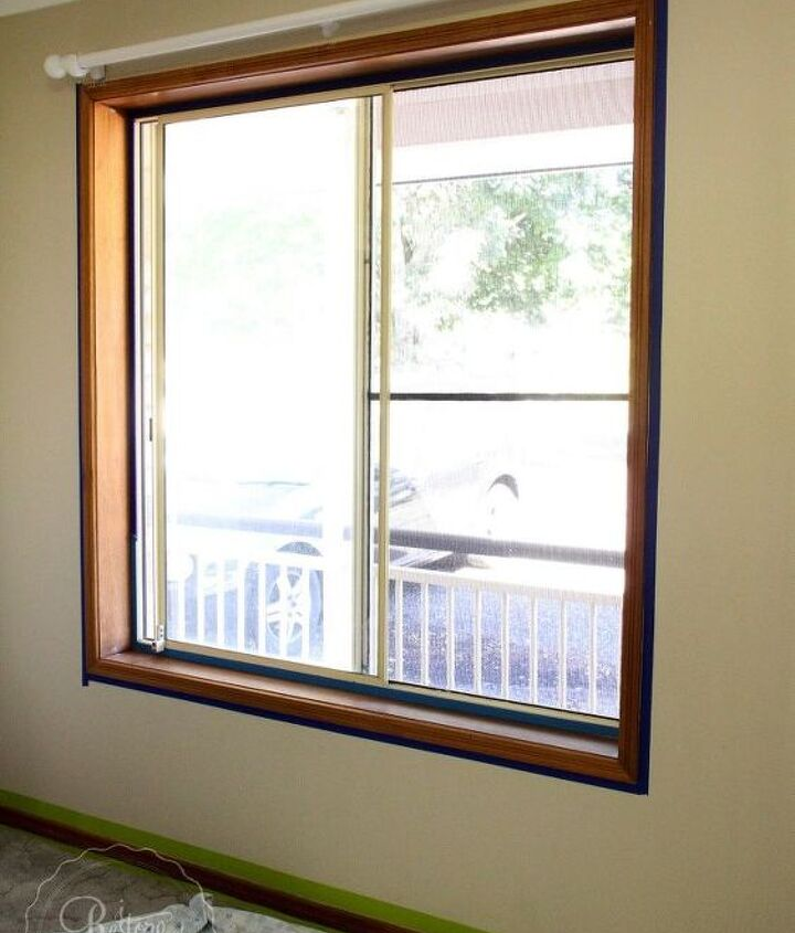 how to paint window sills and trims