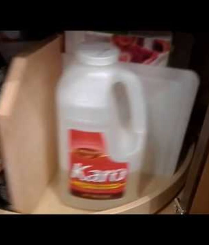 s 15 organizing hacks to help clean up your kitchen, Organize Snacks With A Lazy Susan