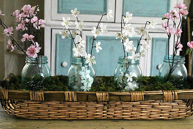s 30 great mason jar ideas you have to try, Stained Glass Mason Jar Centerpiece