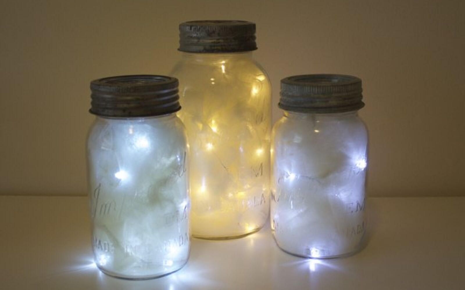 s 30 great mason jar ideas you have to try, Have Shimmering Lights Inside A Mason Jar