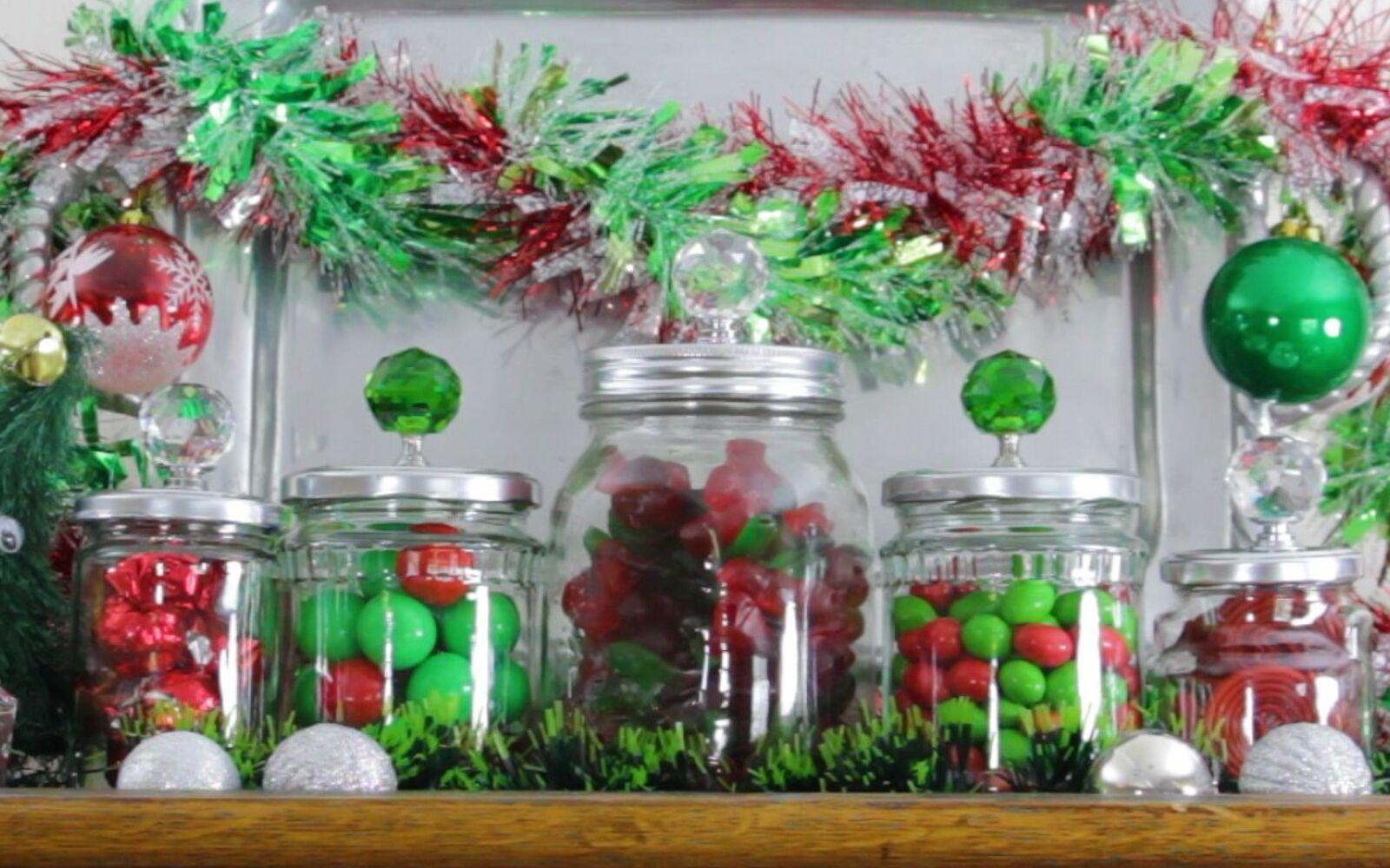 s 30 great mason jar ideas you have to try, Screw Decorative Seasonal Knobs On The Jar