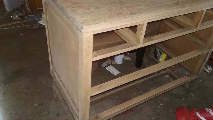 q top coat suggestions for a stained dresser turned bathroom vanity