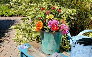 upcycle plastic flower pots into high end decor