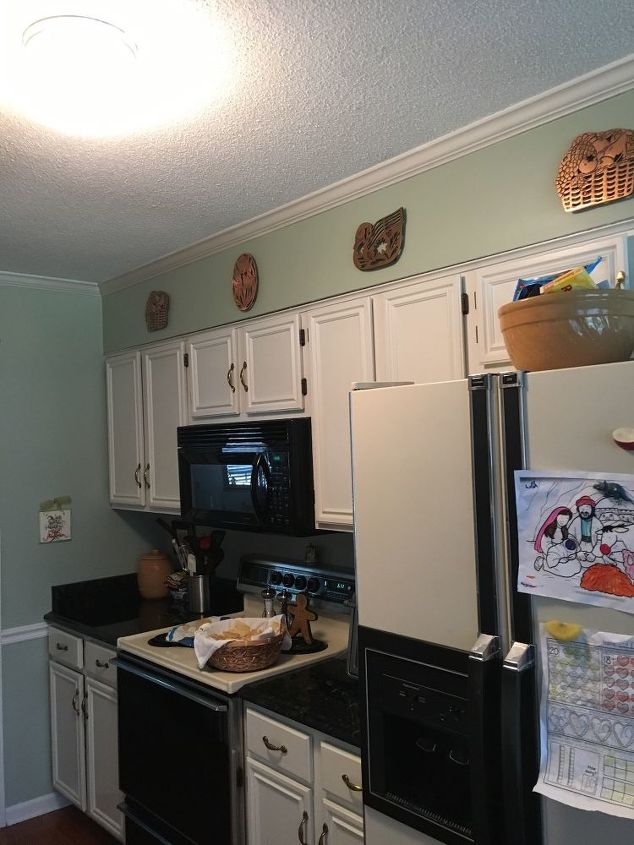 q how do i remove furr down and build lit cabinets