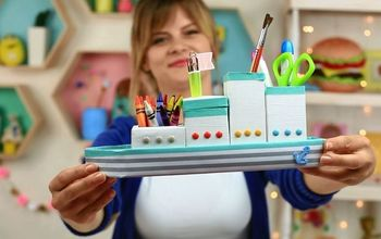 DIY The Ship Desk Organizer