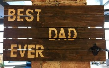 Decorative Beer Opener Sign For Dad
