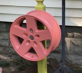 tire rim water hose holder & Tire Rim Water Hose Holder   Hometalk
