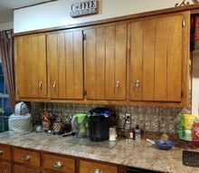 q what can i do to update my cabinets on a tight budget