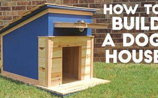 build a modern dog house