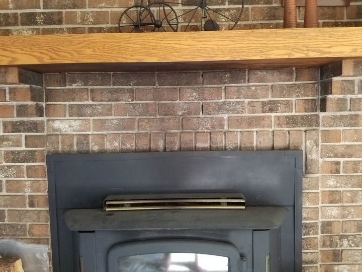 q best way to get years of soot off of fireplace brick doesn t show
