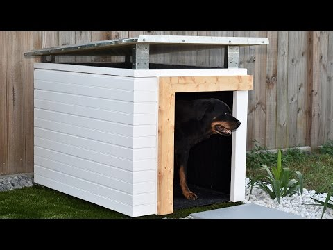 s 10 pawesome projects for your doggy, Craft A Custom Home For Your Furry Friend