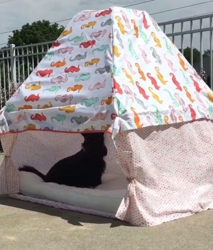 s 10 pawesome projects for your doggy, A Cabana Paradise Special For Your Furbaby