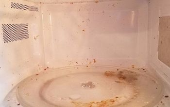 Easiest Way to Clean a Microwave!