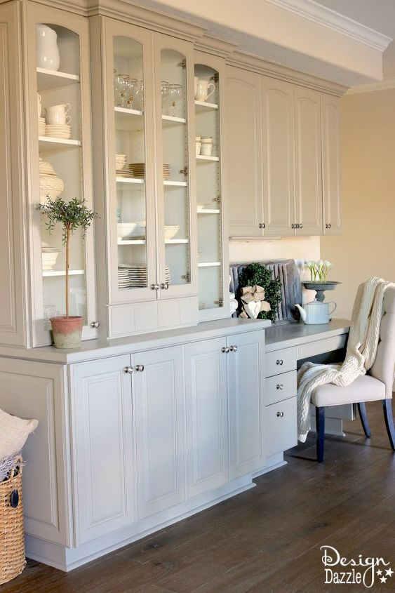 s get magazine ready china cabinets by using the best tool yourself, Paint A Satin Finish On The Cabinet