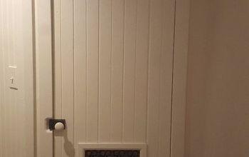 build a rustic closet door
