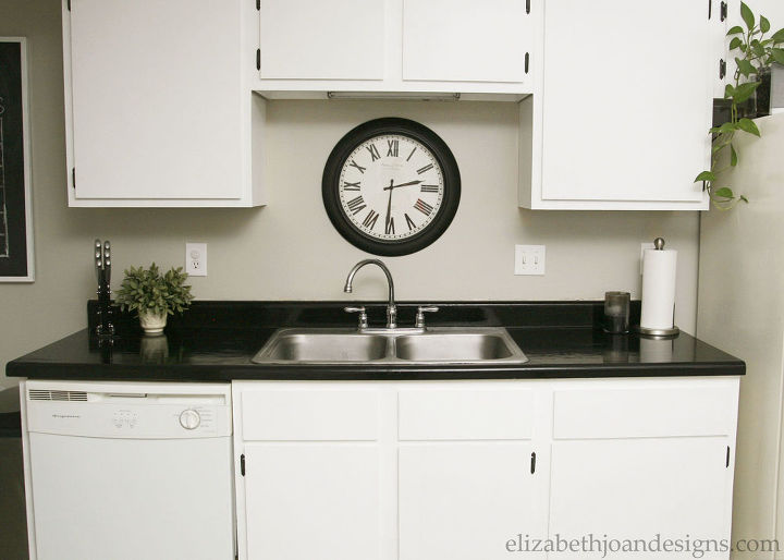 s 31 update ideas to make your kitchen look fabulous, Refresh your countertops with paint