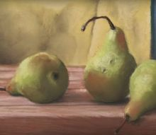 how to paint a pear with acrylic paint 4 easy steps for the beginner