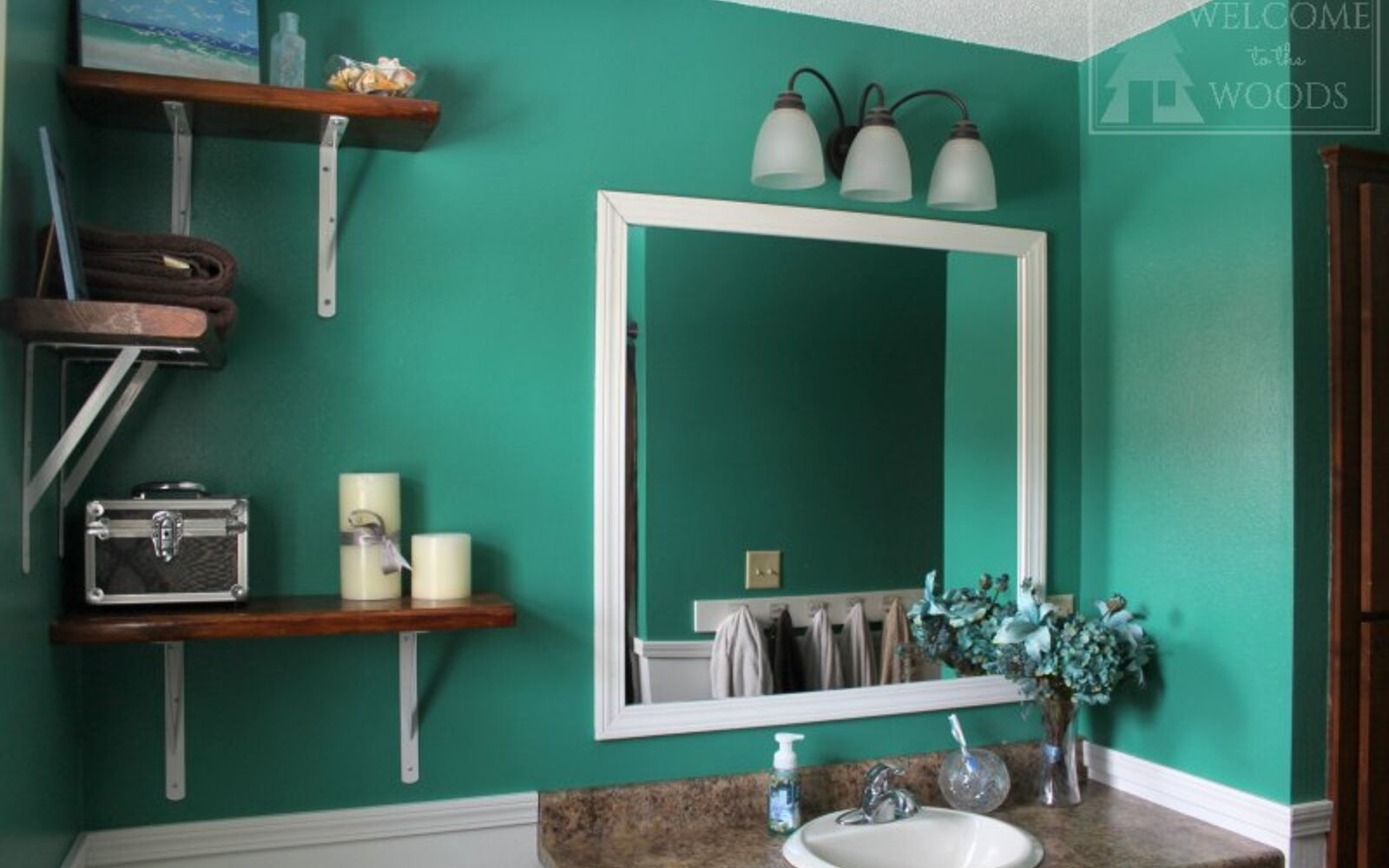 s 10 awe inspiring ways to vastly improve your home this weekend, Wainscot Your Bathroom to Perfection