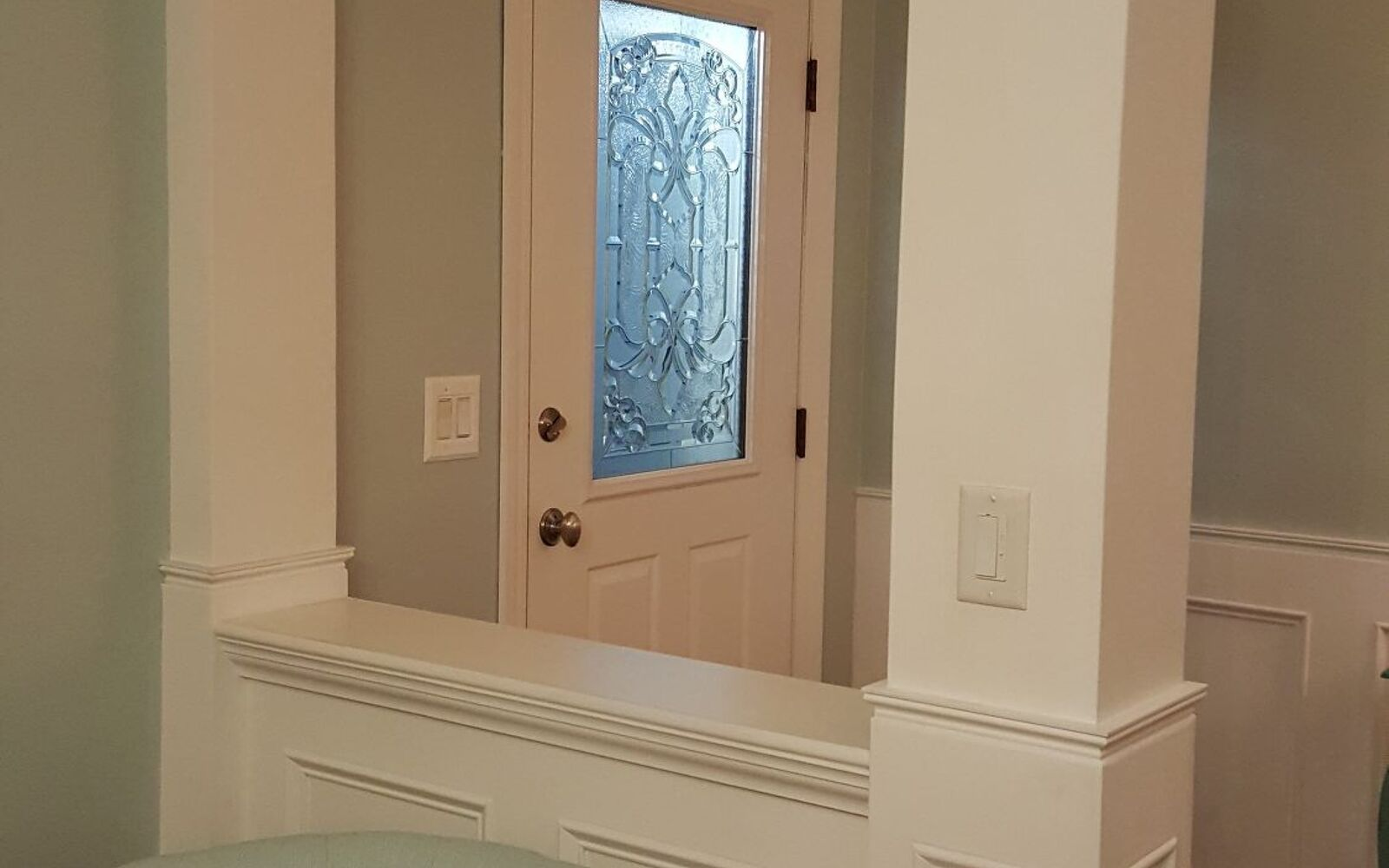 s 10 awe inspiring ways to vastly improve your home this weekend, Create A Fancy Look To Your Door With Glass