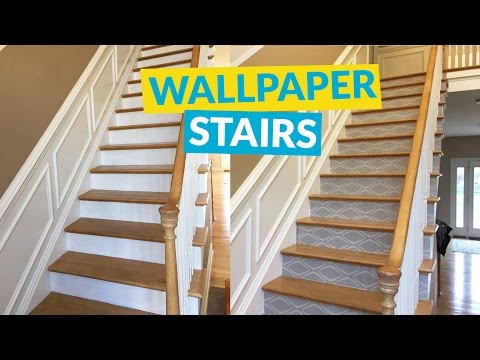 s 10 awe inspiring ways to vastly improve your home this weekend, Have Magazine Worthy Stairs With Vinyl