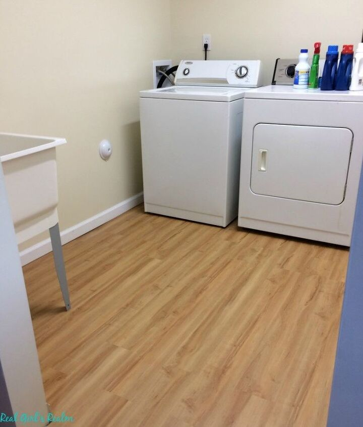 s 10 awe inspiring ways to vastly improve your home this weekend, Have Lux Flooring On A Budget