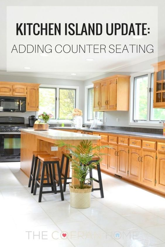 Extending Our Island To Add Counter Seating