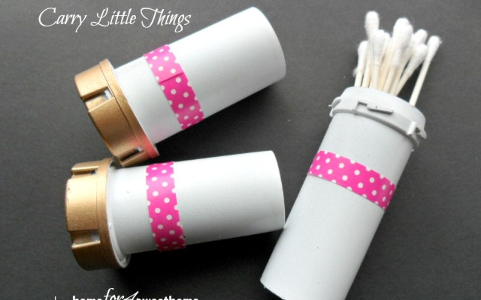 s 30 useful ways to reuse plastic bottles, Turn pill bottles into travel containers