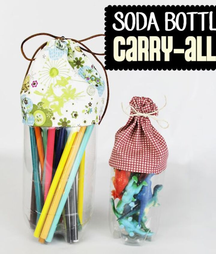 s 30 useful ways to reuse plastic bottles, Transform A Plastic Bottle Into A Carry All