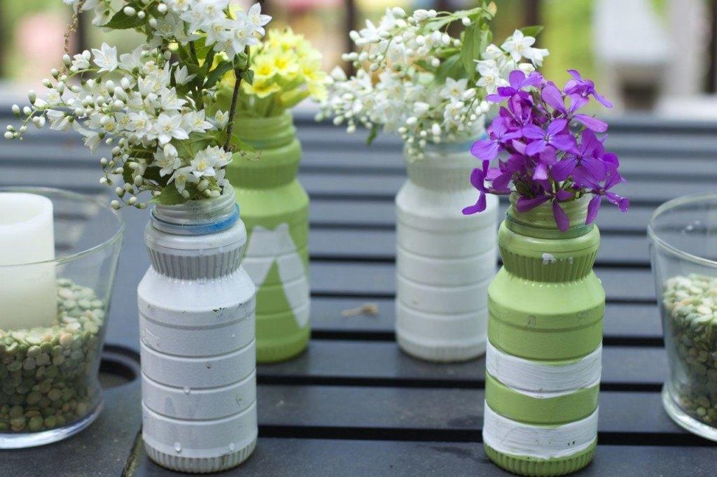 30 useful ways to reuse plastic bottles hometalk for Ways to recycle plastic bottles
