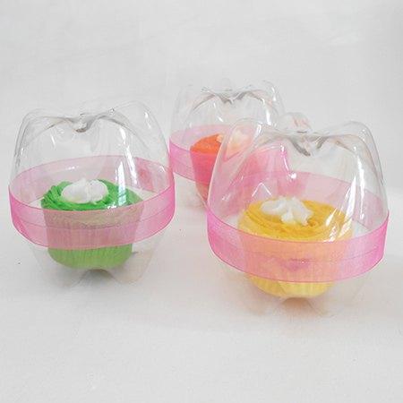 s 30 useful ways to reuse plastic bottles, Repurpose them as cupcake holders