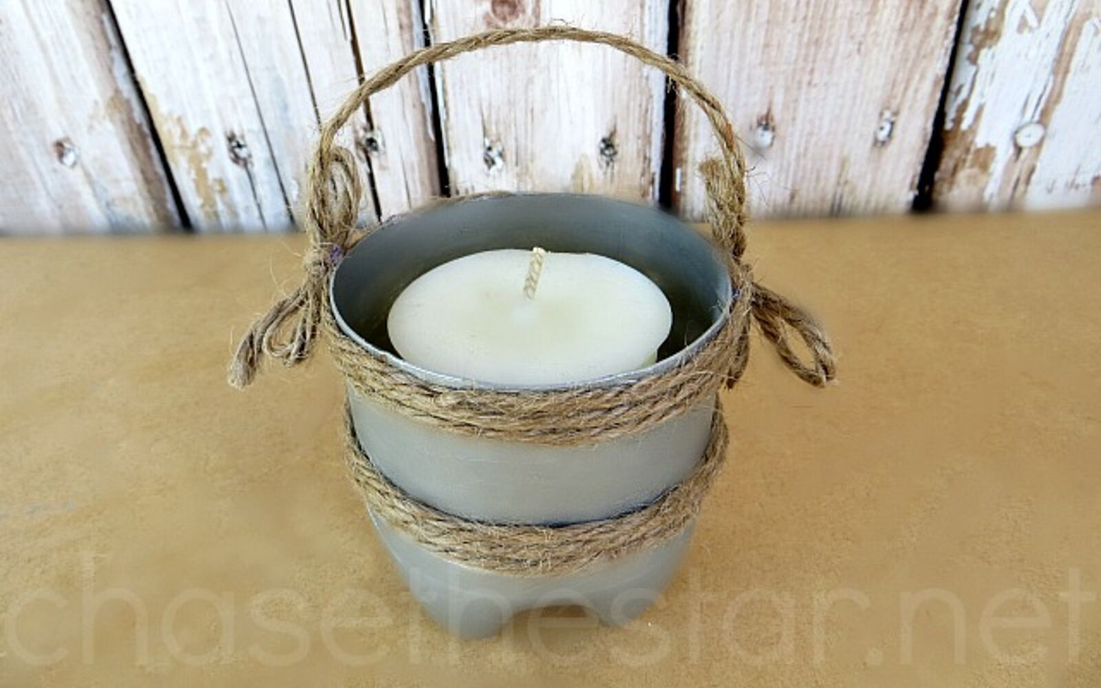 s 30 useful ways to reuse plastic bottles, Revamp them as rustic candles holders