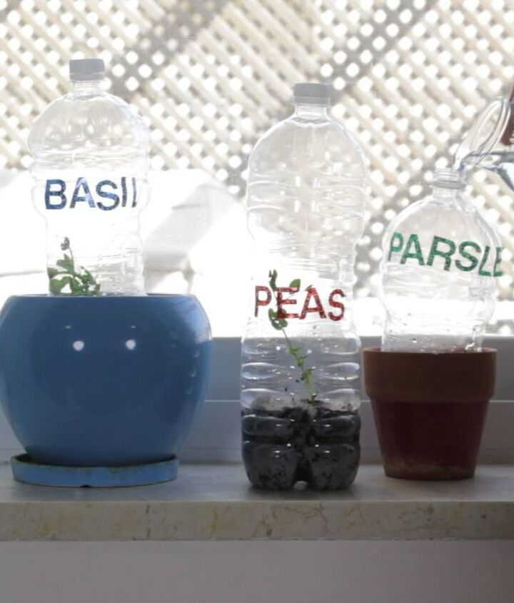 s 30 useful ways to reuse plastic bottles, Make A Greenhouse For Plants